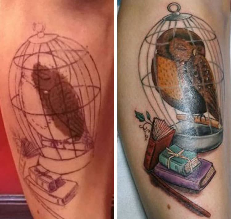 birthmark tattoo cover up