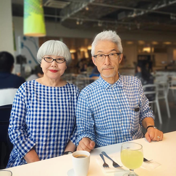 bon_pon bonpon51 matching married couple color-coordinated couple fashion clothing