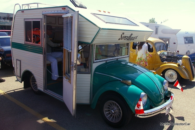 Volkswagen Beetle Camper Transforms Beloved Car into a Bug