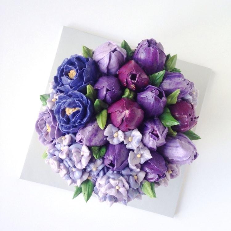 buttercream flower diy