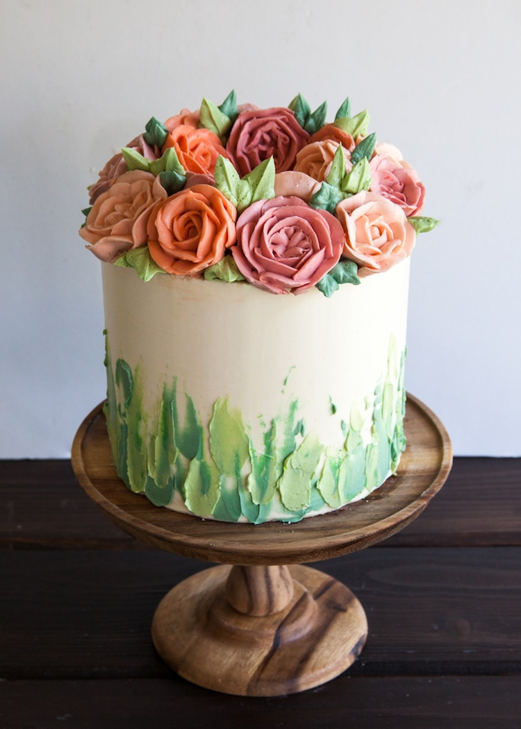 buttercream flower diy
