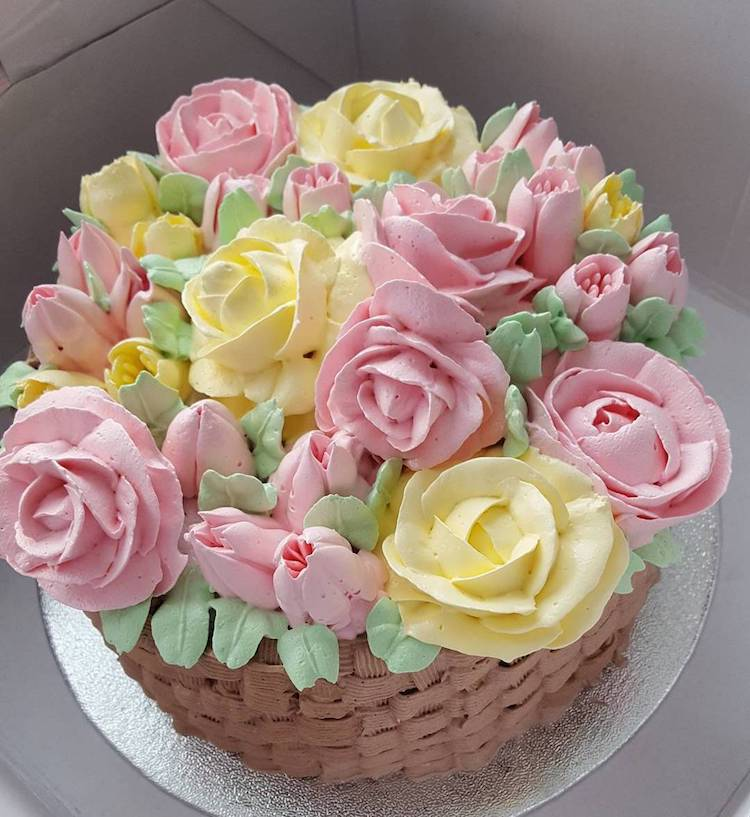 Buttercream flower cakes are a delicious way to welcome spring cake flowers mightylinksfo