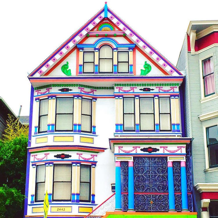 Vibrant Photos Of San Francisco 39 S Candy Colored Houses