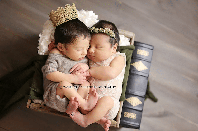 Baby Romeo and Juliet Cassie Clayshulte Shakespeare