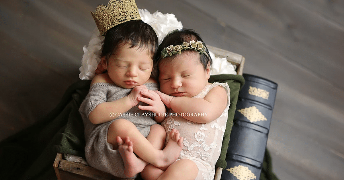 Baby Romeo And Juliet Captured By Photographer Cassie