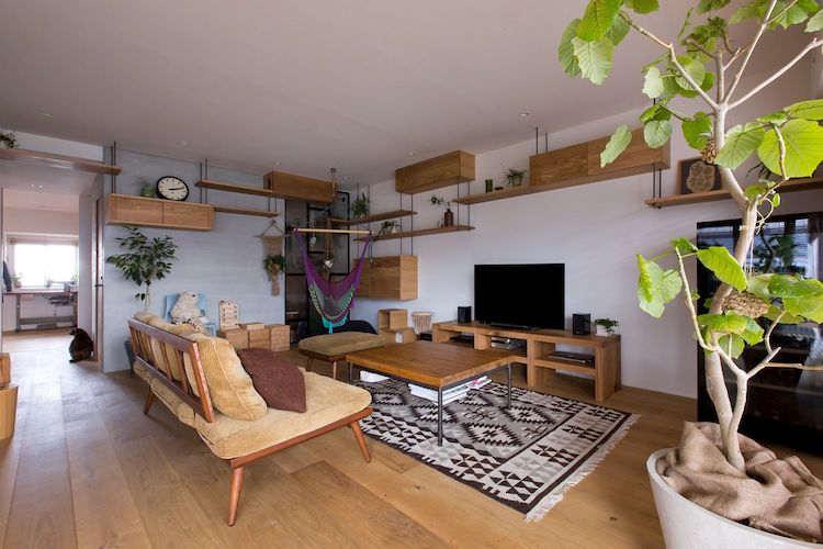 Cat Friendly Apartment In Japan Remodeled For Family S