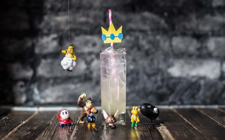 super mario brothers bar