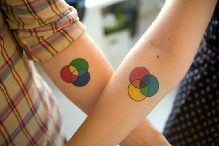 fed54d96b 25+ Creative Couple Tattoos That Celebrate Love's Eternal Bond