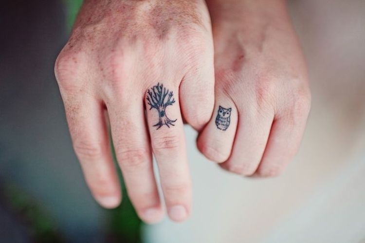 092d128a0 Creative Couple Tattoos That Celebrate Love's Eternal Bond