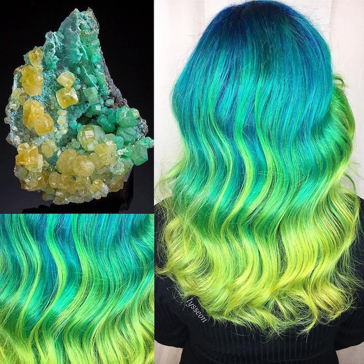 Crystal Hair Trends