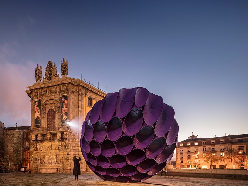 FAHR 021.3 eclipse installation porto public art sculpture architecture art