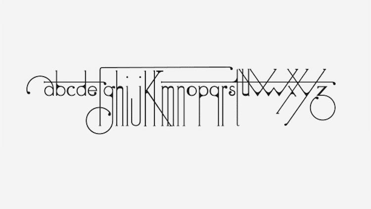 futuracha pro typeface holy Odysseas Galinos Paparounis alphabet