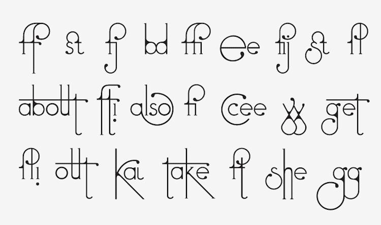 futuracha pro typeface holy Odysseas Galinos Paparounis letters