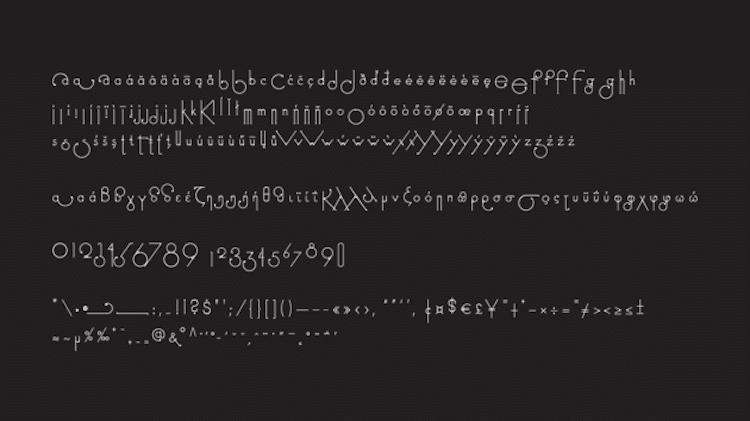 futuracha pro typeface holy Odysseas Galinos Paparounis changing font