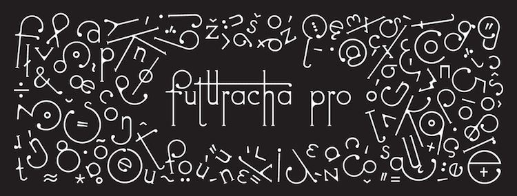 new font futuracha pro by holy