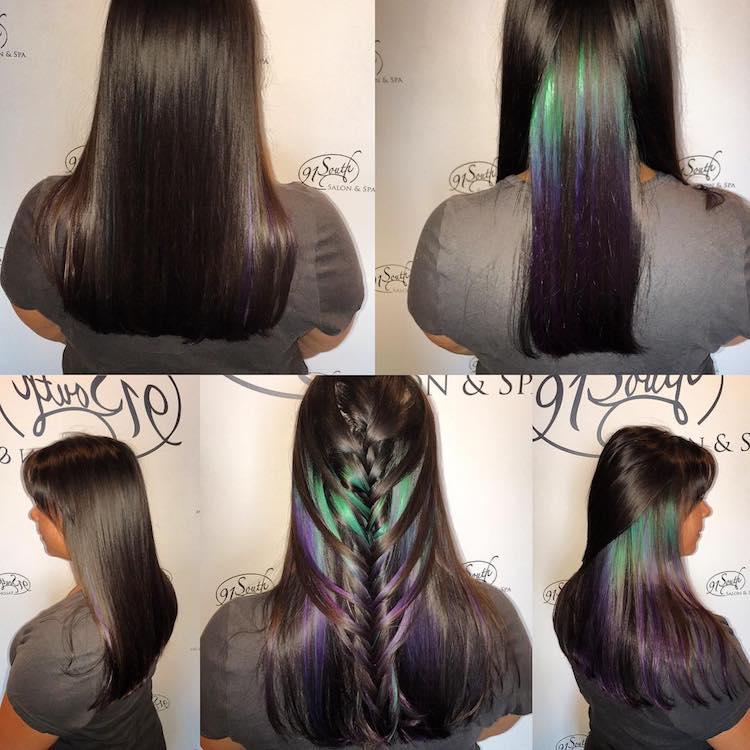 Geode Hair Trend
