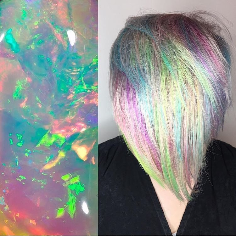 Crystal Hair Trend