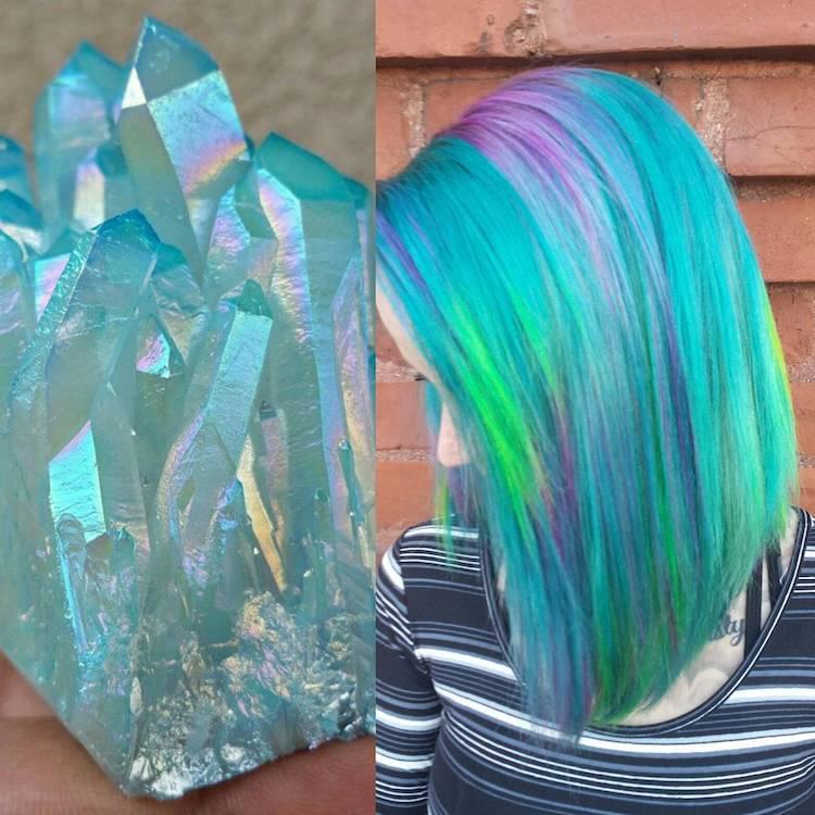 Crystal Hair Trends