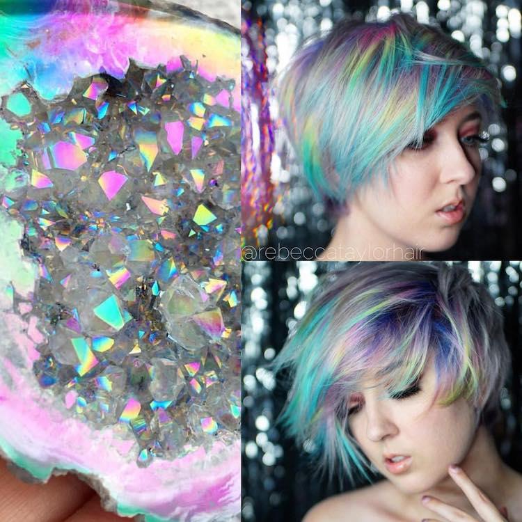 geode hair trends