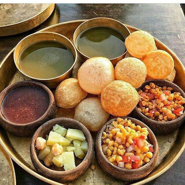 golgappa india street food snacks