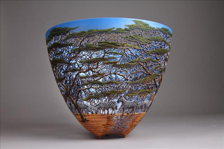 Nature Inspired Woodwork By Artist Gordon Pembridge