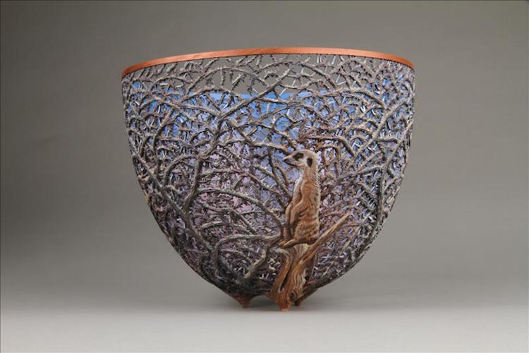 Nature-Inspired Woodwork Gordon Pembridge woodturning sculpture art nature