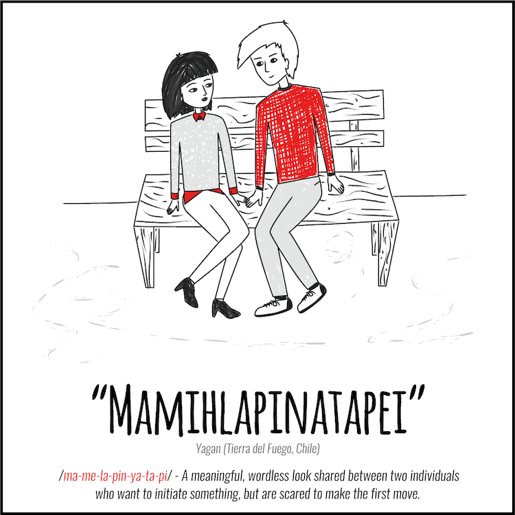 untranslatable love words into english