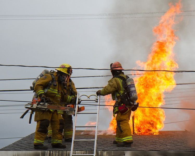 fire fighter photo