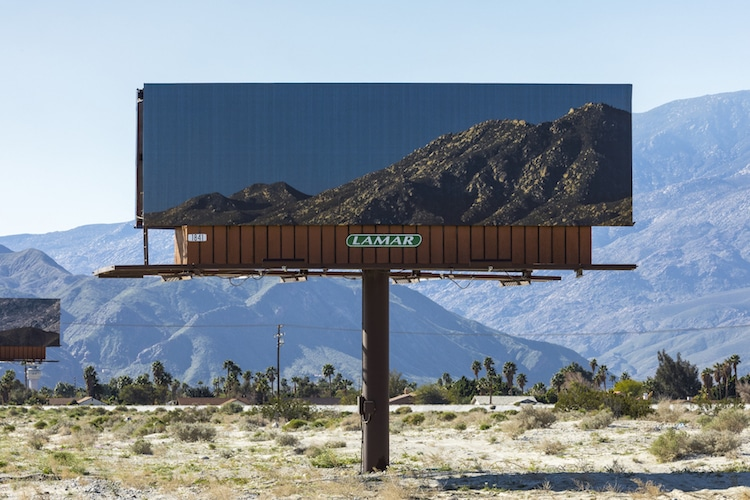 jennifer bolande desert billboards visible distance second sight desert x