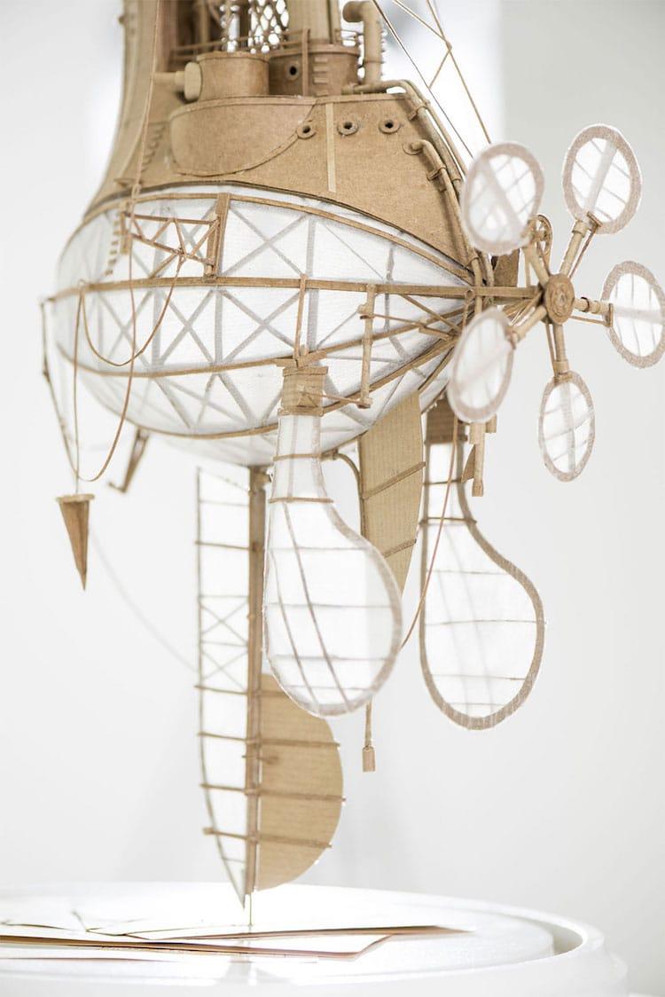 flying machine art