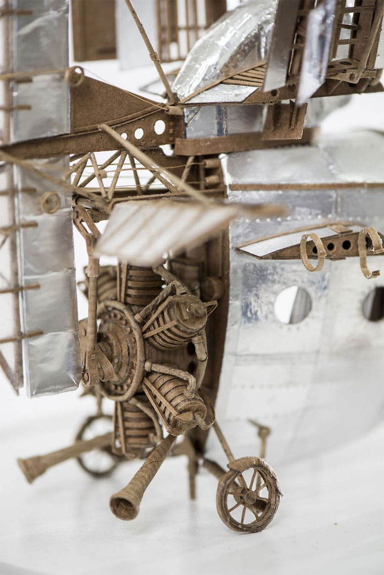 flying machine sculpture