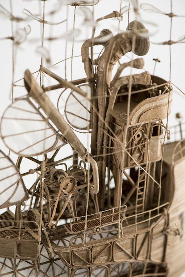 steampunk sculpture art