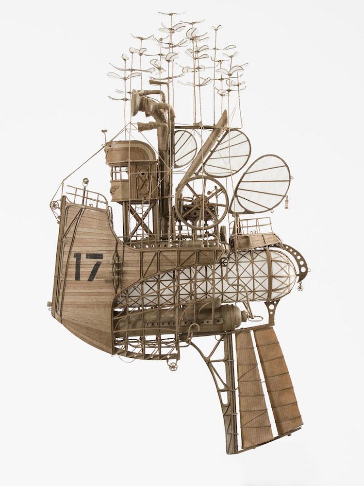 steampunk sculpture art
