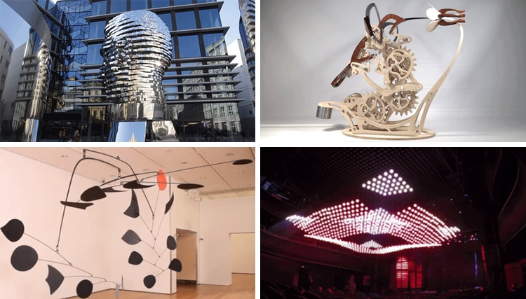 what is kinetic art