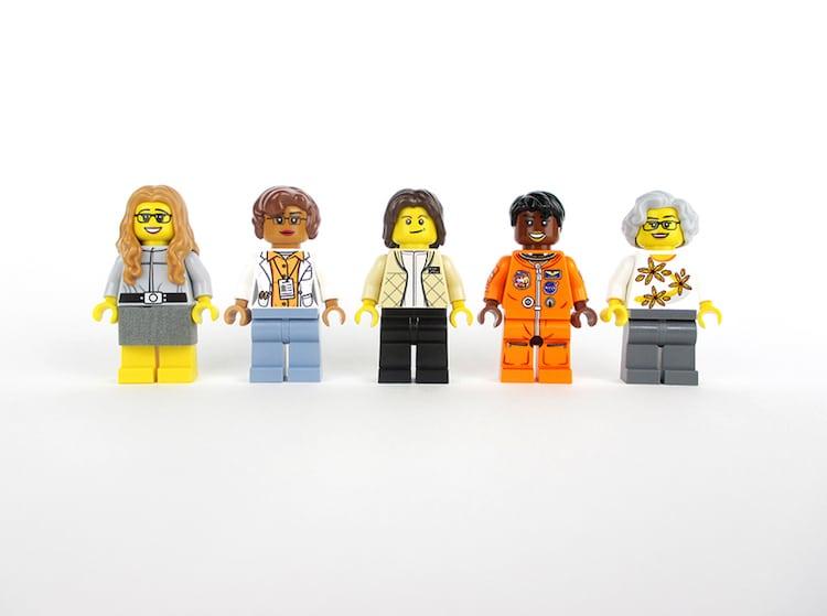 women of nasa lego minifigs