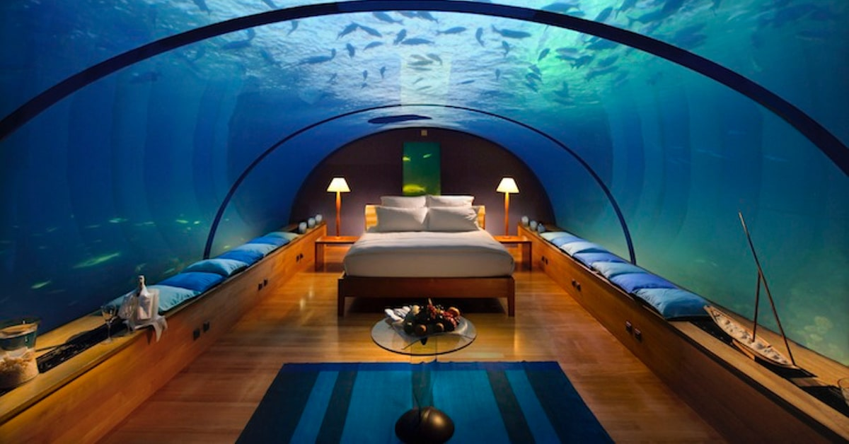 9 Underwater Hotels That Will Let You Sleep With The Fishes