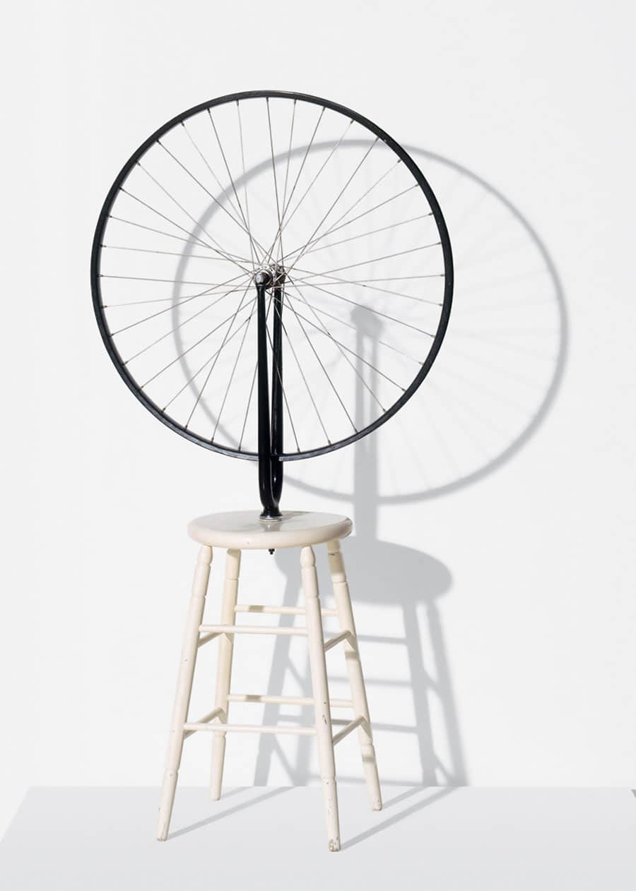 marcel duchamp kinetic sculpture