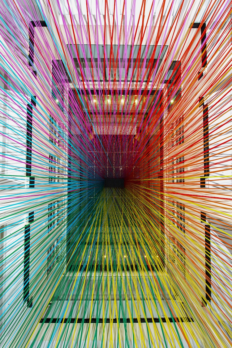 rainbow art megan geckler