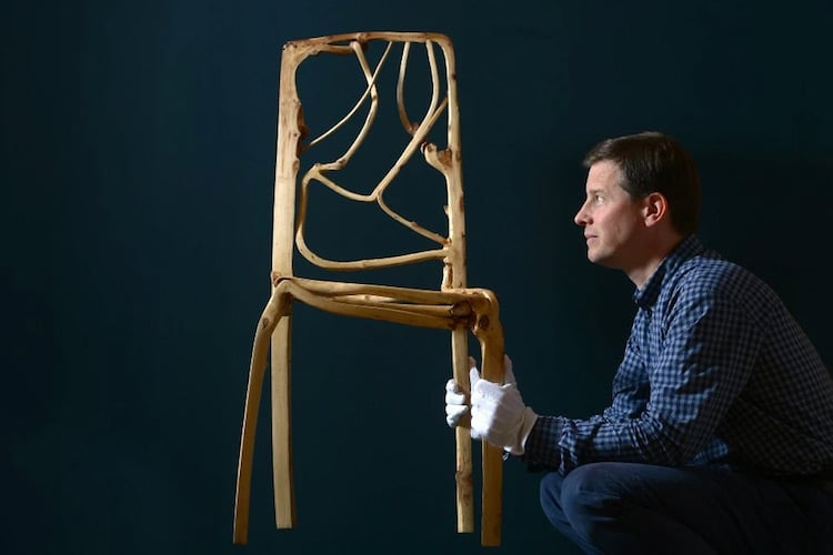 nature-inspired furniture gavin munro chair