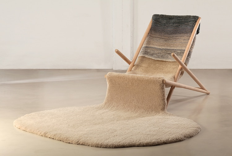 nature-inspired furniture Alexandra Kehayoglou winter chair