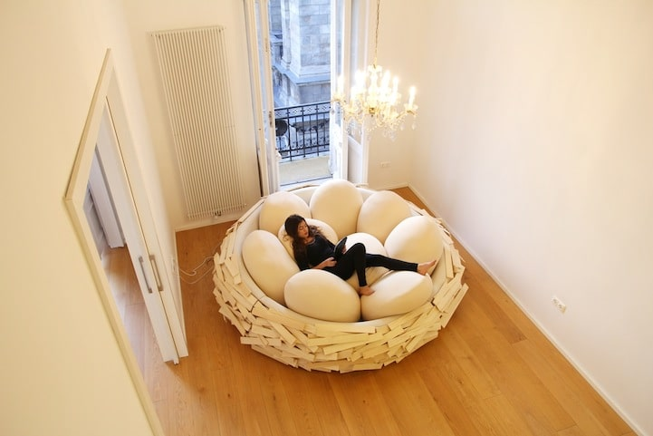 nature-inspired furniture nest design cozy
