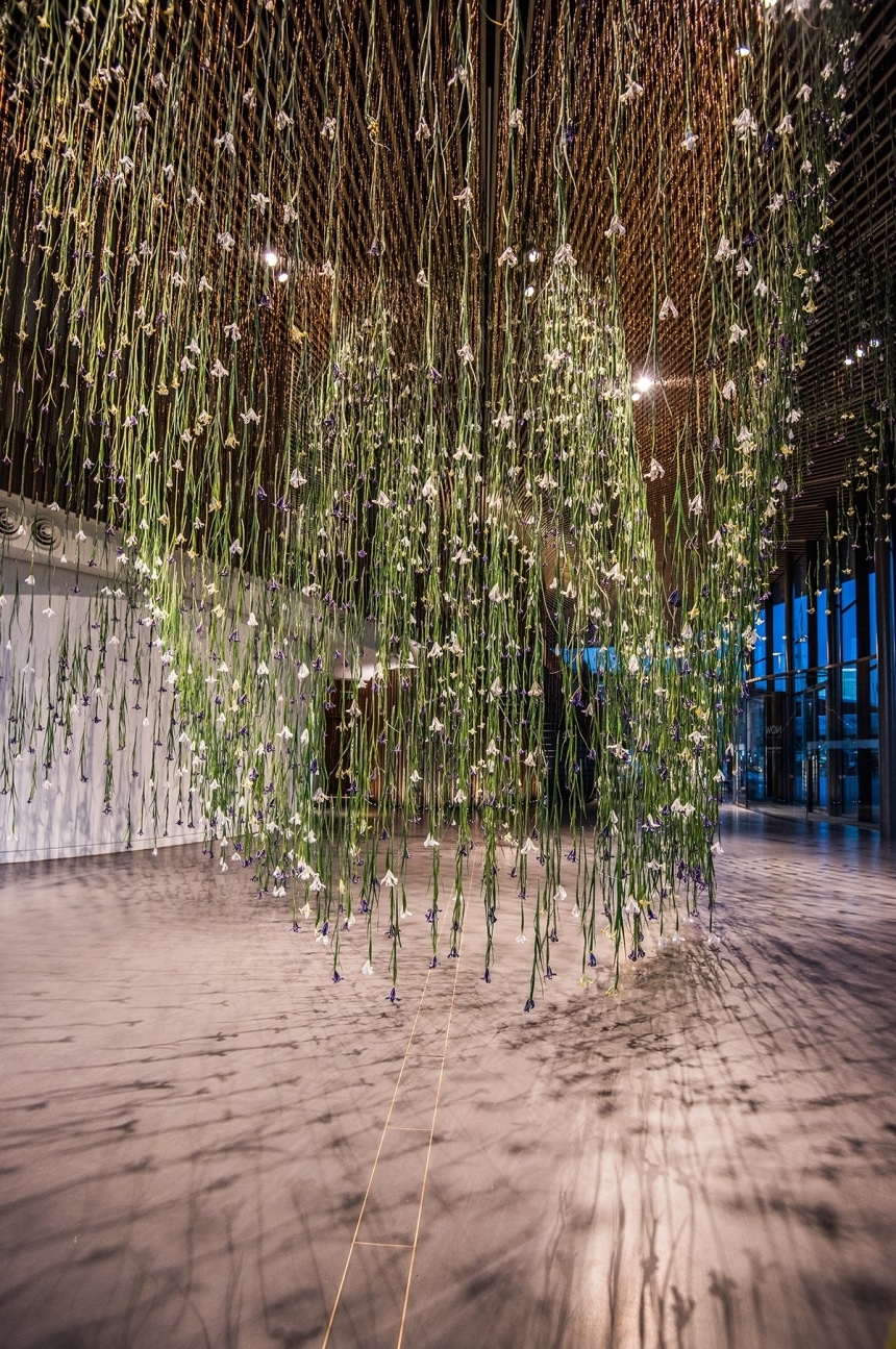 rebecca louise law the iris exhibition ephemeral art decay