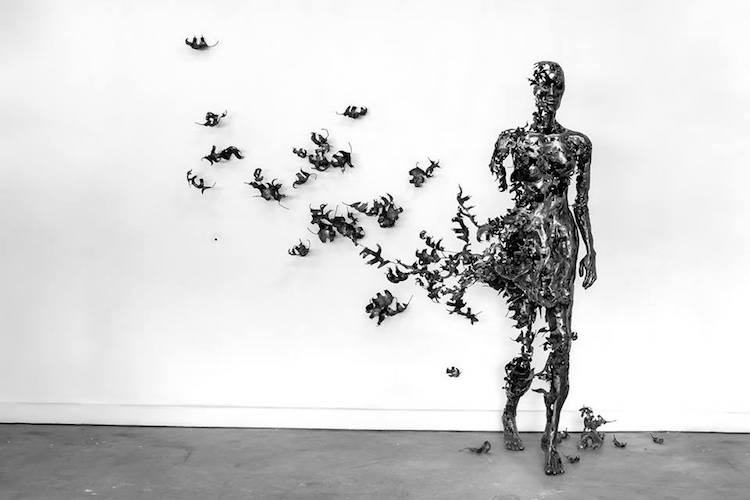 regardt van der meulen deconstructed sculptures weathered