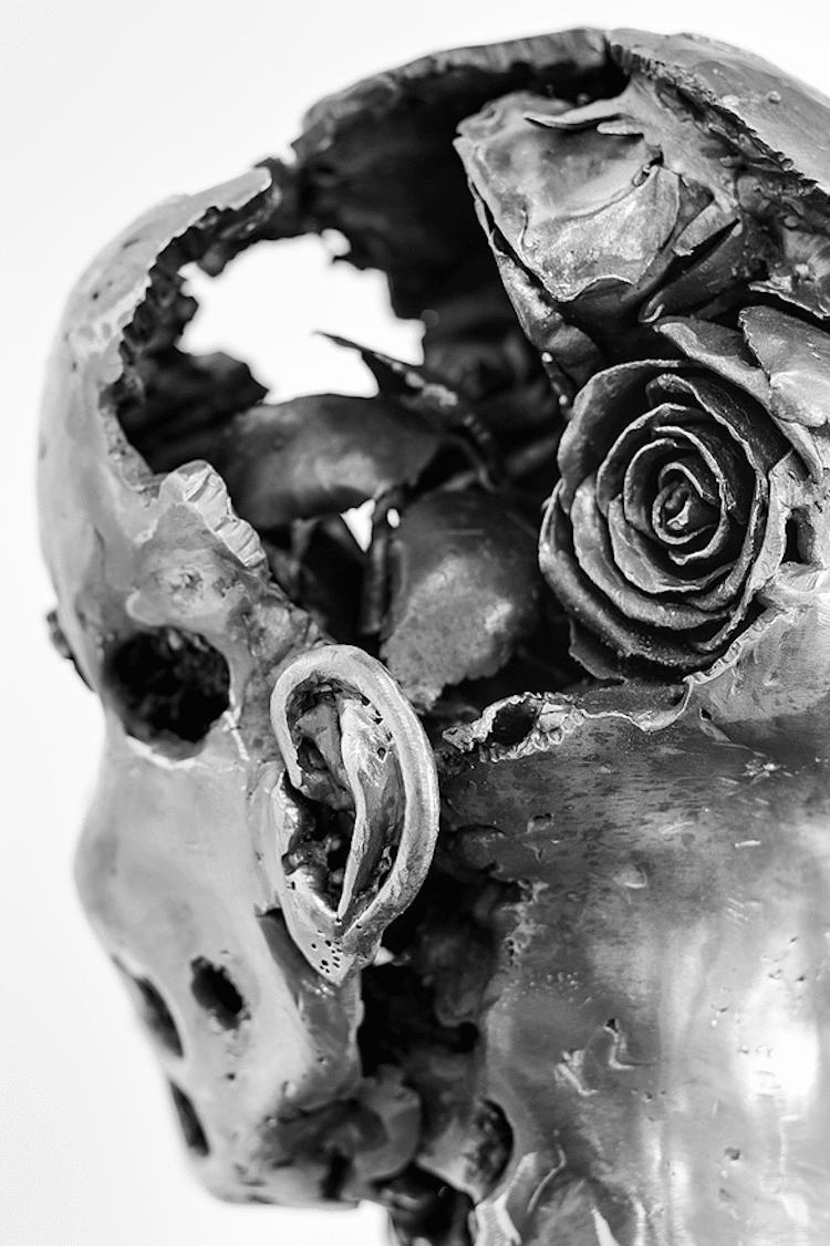 regardt van der meulen deconstructed sculptures ephemeral