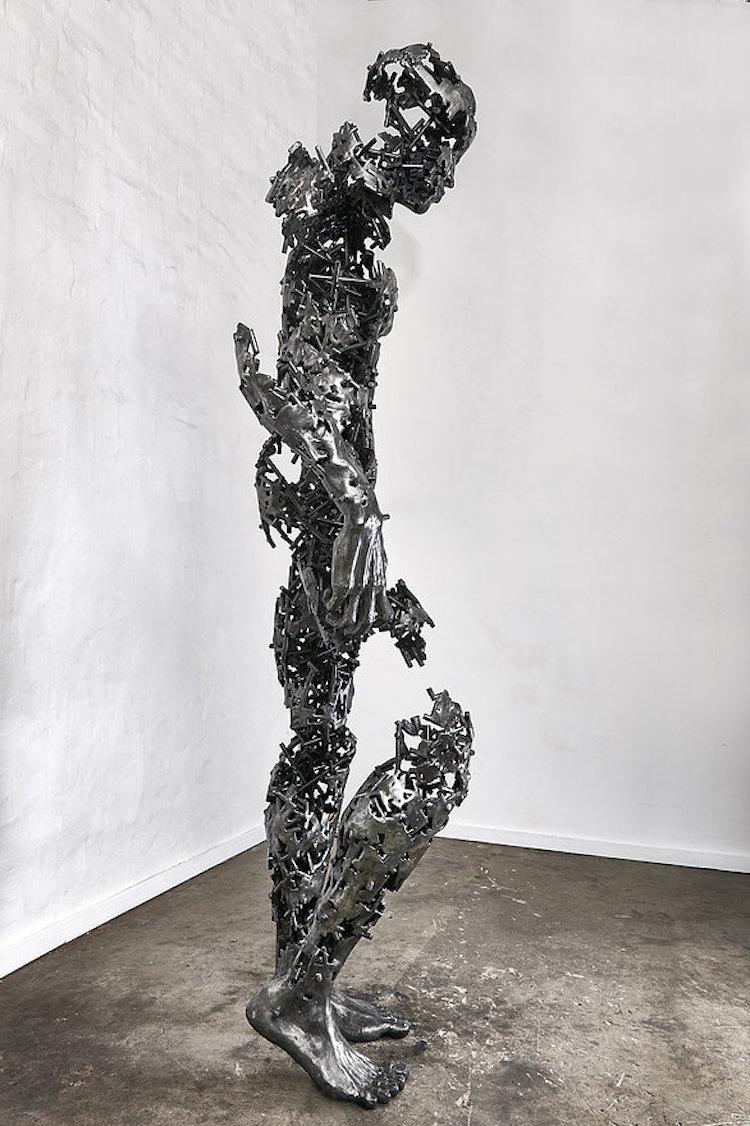 regardt van der meulen deconstructed sculptures i am just the pieces