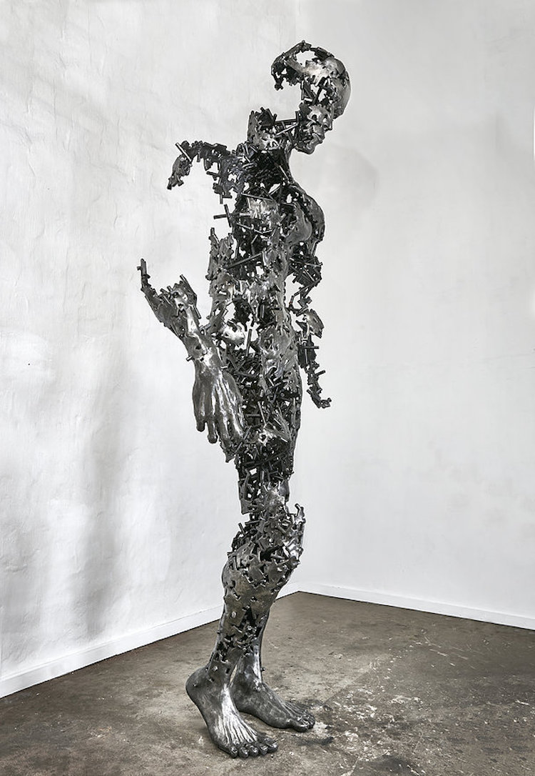 regardt van der meulen deconstructed sculptures i am just the pieces