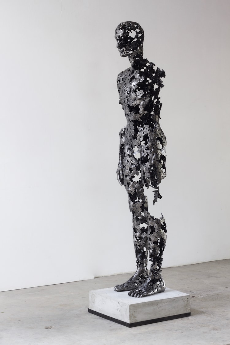 regardt van der meulen deconstructed sculptures fractured