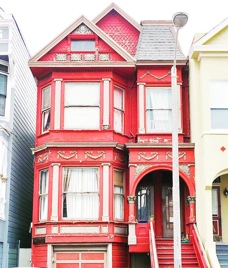 San Francisco colorful houses