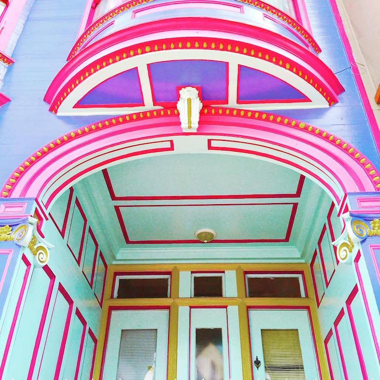 Colorful House vibrant photos of san francisco's candy-colored houses