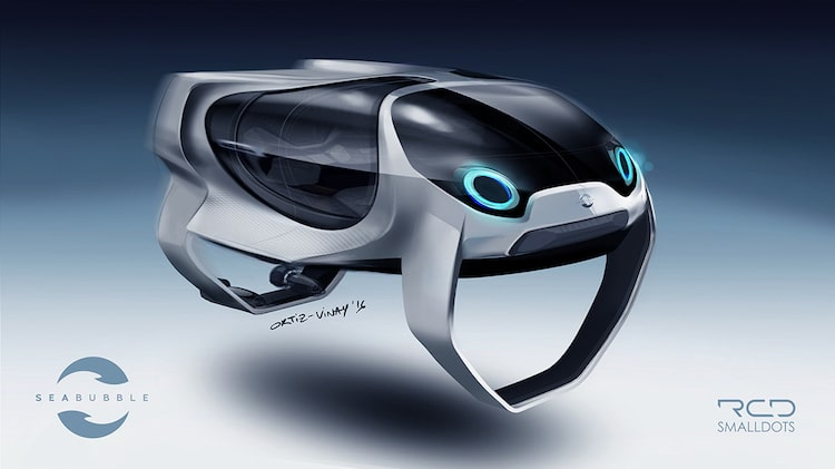 seabubble flying water taxis paris france seine river technology travel transport